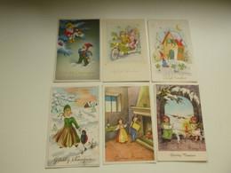 Beau Lot De 20 Cartes Postales De Fantaisie        Mooi Lot Van 20 Postkaarten  -  20 Scans - 5 - 99 Postcards