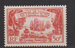 GUYANE       N°  YVERT   138    NEUF SANS  CHARNIERES    ( NSCH  3/22 ) - Unused Stamps