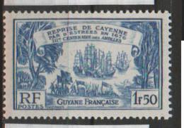 GUYANE       N°  YVERT   139    NEUF SANS  CHARNIERES    ( NSCH  3/22 ) - Unused Stamps