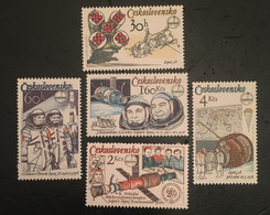 Checoslovaquia 1979 Interkosmos. ** - Unused Stamps