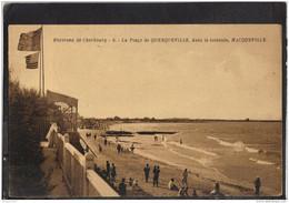 50133 . QUERQUEVILLE . LA PLAGE . NACQUEVILLE  . 1934 - Autres Communes