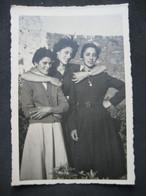 OLD VIEILLE VECCHIA FOTO SEXY WOMEN FEMMES DONNE FILLES FILLETTES - Persone Anonimi