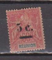 REUNION       N°  YVERT  :    53 (2° Choix )  NEUF SANS GOMME    ( SG  1/03 ) - Ongebruikt