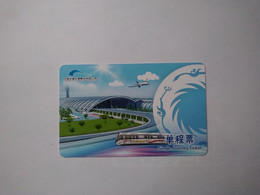 China Transport Cards,airport, Metro Card, Chengdu City, (1pcs) - Unclassified