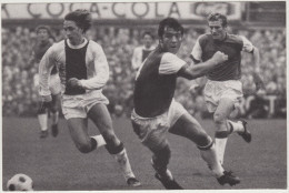 JOHAN CRUIJFF ; Nummer 14 - AJAX - (Holland/Nederland) - SOCCER - FUßBALL - FOOTBALL - FUTBOL - VOETBAL - Calcio