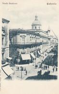 CATANIA-STRADA STESICORO- CARTOLINA NON VIAGGIATA -1900-1904 - Catania