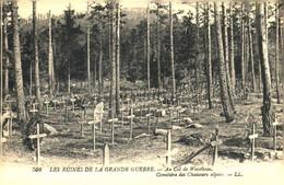 """C O Cl M 3/  Carte  Ancienne  > Début XX E Siècle  """"Col De Weisthein 08"""" Cimetière Des Chasseurs Alpins  (F 140 X 90 Mm) - Other"""