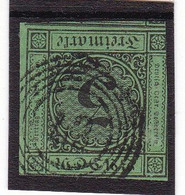 # Z.13076 Germany, Baden, 1853/54 Stamp 3 Kr. Used, Michel 6: Definitive, Digit In Circle - Baden