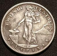 PHILIPPINES - 20 CENTAVOS 1944 - Argent - Silver - Administration Américaine - KM 182 - ( Filipinas ) - Philippines