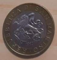 REPUBBLICA SAN MARINO LIRE 1000 ANNO 1997 - San Marino