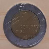 REPUBBLICA SAN MARINO LIRE 500 ANNO 1990 - San Marino