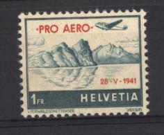 0ch  1314  -  Suisse  -  Avion  :   Yv  34 A  Mi  395  ** - Ongebruikt