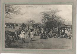 CPA - LOUGA (Sénégal) - Thème: ARBRE - Aspect De La Place En 1900 - Senegal