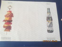SET TABLE PUBLICITAIRE  EN PAPIER BROCHETTE  SPRITE LIGHT - Company Logo Napkins