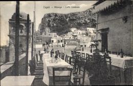 CPA Capri Neapel Campania, Albergo Caffe Centrale, Terrasse - Andere