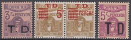 Taxe N° 51 Au N° 53 - X X - ( C 548 ) - Postage Due