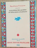 FRANCE - Carnet CROIX ROUGE YT N°2010 - 1961 - Neuf - Croce Rossa