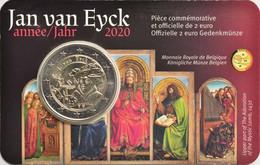 "2 EURO  Belgio 2020 - ""630° Anniv. Nascita Jan Van Eyck"" - Belgium"