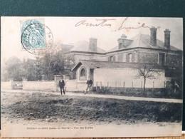 77 , Choisy En Brie  ,les écoles ,vue Générale  En 1904 - Otros Municipios