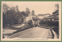 CPA Vue Peu Courante - GIRONDE - BEAULAC-BERNOS - LE MOULIN DE SAINTE GERMAINE - Collection L. Portets / 3312 - Altri Comuni