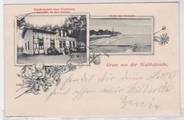 83927 Ak Gruß Von Der Waldschenke Zum Nordstern Schleffin An Der Ostsee 1899 - Pommern