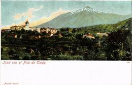 CPA AK ICOD TENERIFE Con El Pico De Teide SPAIN (674026) - Tenerife