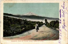 CPA AK TENERIFE Peak Of Teyde Taken From Matanza SPAIN (674068) - Tenerife