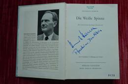 Signed Heinrich Harrer Die Weisse Spinne Eiger Alpes Mountaineering Escalade Alpinisme - Biographies & Mémoirs