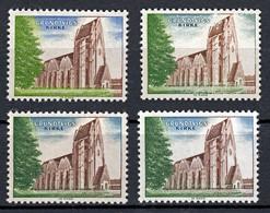 Probedruck, Test Stamp, Specimen, Prove, Grundtvigs Kirke, Slania 1968 - Prove E Ristampe