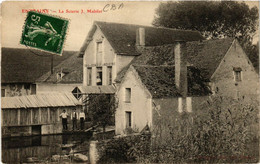 CPA AK Entrains - La Scierie J. Mabilat (659010) - Other Municipalities