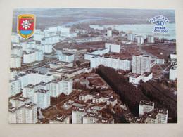 Ukraine Chernobyl Pripyat Aerial View Of The City  Avanhard Stadium - Stadions