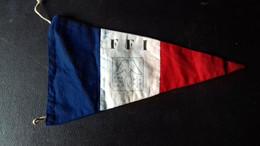 Fanion Drapeau FFI Haut Rhin Résistance Guerre Du Rail Ww2 39/45 - 1939-45