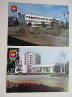 2 PCs Ukraine Chernobyl Pripyat Post Office And Store - Oekraïne