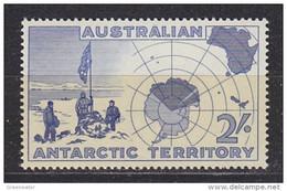 AAT 1957 Discovery Of Antarctica 1v ** Mnh  (51736) - Nuevos