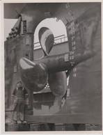 PHOTO - HELICE DE NAVIRE (18.2 X 23.8 Cm.) - Schiffe