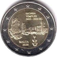 """2 EURO Malta 2020 - """"Templi Di Skorba"""" - Malta"""