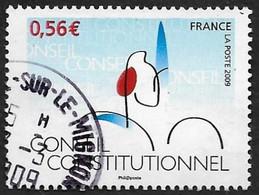 FRANCE  2009 -  Y&T  4347  -  Conseil Constitutionnel  - Oblitéré - Gebruikt