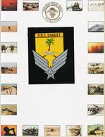 Mi005 ⭐ R.H.C MISSION DAGUET 1991 Opération DESERT SHIELD SAUDI ARABIA -Autocollant Central + 19 Photos + Insigne Laser - Unclassified