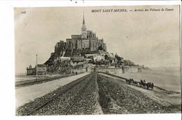CPA Carte Postale France- Le Mont Saint Michel- Arrivée Des Voitures De Genets     VM30466 - Le Mont Saint Michel