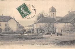 25-SAONE- LA PLACE DE LA FONTAINE - Autres Communes