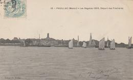 Les Régates 1905, Départ Des Filadières - Pauillac