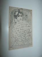 GASTON NOURY TRES BELLE CPA ART NOUVEAU ANNEE 1903 ILLUSTRATEUR GASTON NOURY - Andere Zeichner