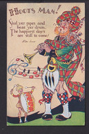 D38 /   Schottland Duddelsack Hoots Man , Pawky Scot Um 1920 - Unclassified