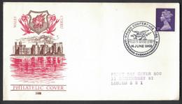 EW126    GREAT BRITAIN 1968 - SPECIAL POSTMARK DRAGON - Mitología