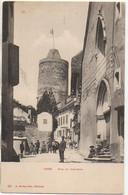 Suisse  ORBE  Rue Du Château (animée) - VD Vaud
