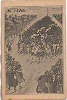 1er MAI Carte Illustrée Confédération Générale Du Travail (CGT) - Labor Unions