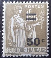 R1491/313 - 1934 - TYPE PAIX - N°298 NEUF** LUXE - TRES BON CENTRAGE - 1932-39 Frieden