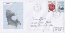 France TAAF 2008 Lettre Avec TUC  YT 499 Et 506 Et Oblitération St Paul - Briefe U. Dokumente