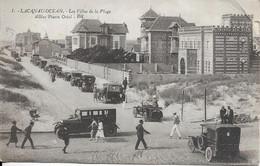 "CPA LACANAU-OCEAN 33 :  Les Villas De La Plage - Allée Pierre Ortal - Collection "" Braun ""  Voyagée 1927 - Altri Comuni"