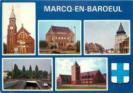 59 MARCQ EN BAROEUL MULTIVUES - Marcq En Baroeul